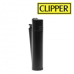 Briquet Clipper METAL BLACK
