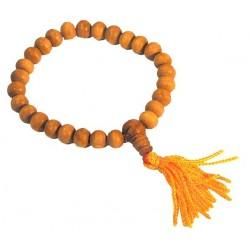 Bracelet MALA - Perles en Bois de Santal