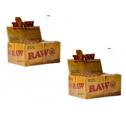 RAW TIPS  - Lot de 2 Boites (100 Carnets)