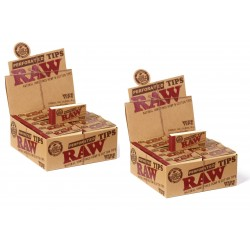 RAW WIDE TIPS  - Lot de 2 Boites de 50 Carnets (TONCAR)