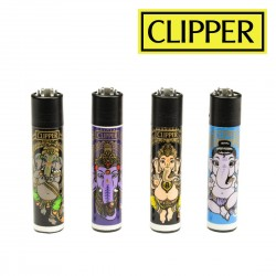 Briquet CLIPPER GANESH COLLECTION  Lot de 4