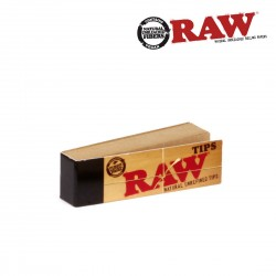 Raw TIPS Notebook x 50 Filters in Carton (Tip)