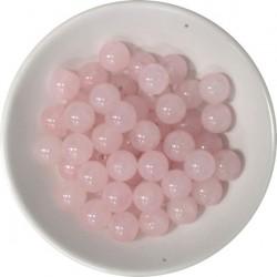 Perles QUARTZ ROSE 8MM -...