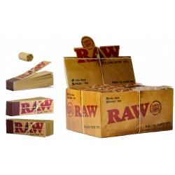 RAW TIPS  - Lot de 20 Carnets  x50 Filtres en carton