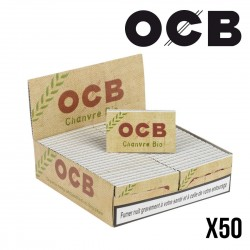 Lot de 50 Carnets OCB Chanvre Bio
