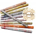 Rouleaux 15 Bâtonnets d'Encens Indiens - 25 Parfums au choix