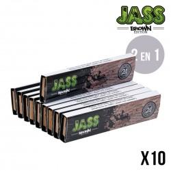 JASS SLIM BROWN + TIPS x10