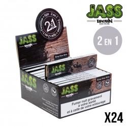 JASS SLIM BROWN + TIPS x24