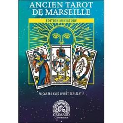 Mini Tarot De MARSEILLE GRIMAUD Coffret