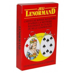 Jeu LENORMAND - Cartes de...