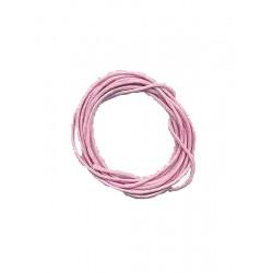 Cordon Rose Coton Ciré 1 M
