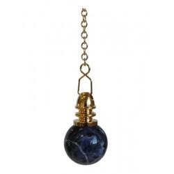 Pendule Boule Sodalite 20 mm