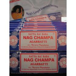 Encens Nag Champa - Lot de 12 Boites de 40G PROMO Point Relais !