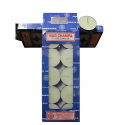Bougie Parfumée (T-LITE Candle) NAG CHAMPA - Boite de 10
