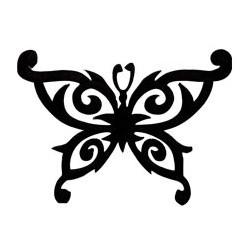 Ecusson Thermocollant Papillon