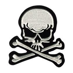 Ecusson Tête de Mort (Skull...
