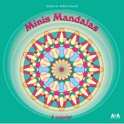 Minis Mandalas à colorier - Joane Michaud