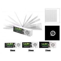 Carnet JASS TIPS  Filtres en carton  (Toncar) Largeur au choix