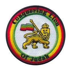 Ecusson Thermocollant Conquering Lion of Judah (Shield)
