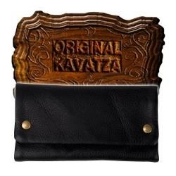Blague à Tabac Cuir - KAVATZA Cuir Black (Noir)